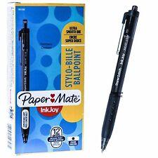 Paper Mate InkJoy 300 RT 1.0 Med Pt. 1951260 Black Ink Ballpoint Pen, Box of 12