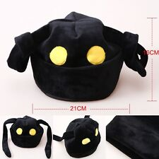 New Black Costumes Kingdom Hearts II Shadow Heartless Cosplay Plush Hat