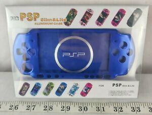 Case Aluminium blue / Slim & light Aluminum Case for Psp 2000/3000