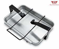 Gas Grill Replacement Catch Pan Genuine Outdoor BBQ Holder Weber 7515 Genesis