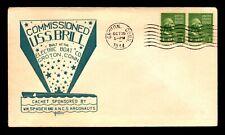 USS Brill 1944 Comissioned / Herald Cachet - L6688
