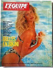 L'Equipe Magazine 16/04/1994; Entretien JP Gatien/ Rachel Hunter/ Jean Reno