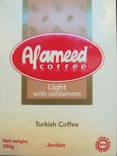 Al Ameed Coffee (Light Roast with Cardamom ) Ground coffee/ Turkish /Arabic