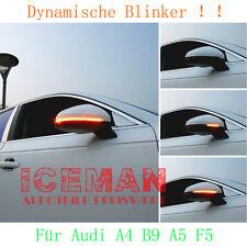 2x Laufblinker Audi A4 B9 A5 F5 ab 2015 LED Dynamische Spiegel Lampe Seitenlicht