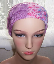 Hand Knitted Ladies Ear Warmers, Headband, Hair Tidy.