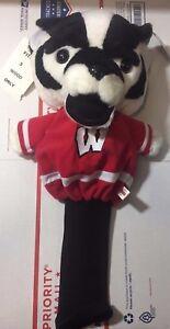 DATREK University of Wisconsin Badgers Golf Club Mascot Headcover FITS 3 WOOD
