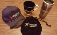 TNM&O Coaches Bus Co. Employee Gift items • Lot of 4 • coffee mug  ball cap
