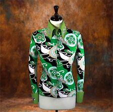X-LARGE Showmanship Pleasure Horsemanship Show Jacket Shirt Rodeo Queen Western
