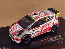 Ixo 1/43 #RAM499 Diecast Ford Fiesta RS WRC, '12 Monte Carlo Rally, JIPO Car #21