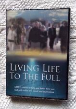 LIVING LIFE TO THE FULL (DVD+ MOOD CARD AND 4 INFO CARDS) R-ALL, NEW, FREE POST