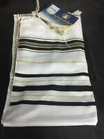 "52"" Black & Gold Kosher Tallit Talit Talis Made in Israel Jewish Prayer Shawl"