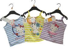 Mädchen-Tops,-T-Shirts & -Blusen mit Trägertop und Motiv