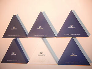 Swarovski Ornament Star Selection 1996 1998 2001 2003 2006 2009 2011 2012 +