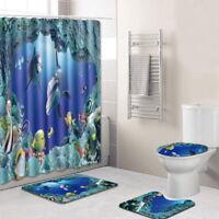 Illiniwek Chief Waterproof Polyester Bathroom Shower Curtain