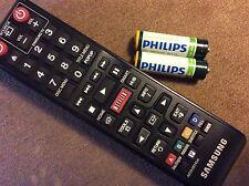 Samsung Blu-Ray Netflix Pandora DVD Player Remote AK59-00145A New Batteries