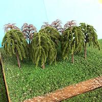 S-P Weeping Willow Trees B- Model Scenery Railway Layouts Wargames Plastic wood