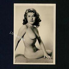 #448 RÖSSLER AKTFOTO / NUDE WOMAN STUDY * Vintage 1950s Studio Photo - no PC !