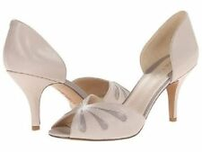 Leather Open Toe Medium (B, M) Nine West Heels for Women