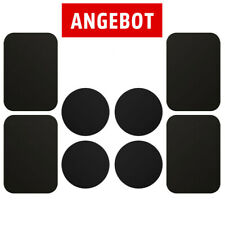 8x Metallplättchen für Handy Halter Magnet KFZ Halterungen Ersatz Metallplatte
