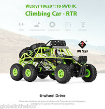 WLtoys 18628 1:18 6WD Off-road RC Arrampicata auto RTR 2.4GH controllo LED Voitu