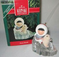 1990 Hallmark Frosty Friends Ornament