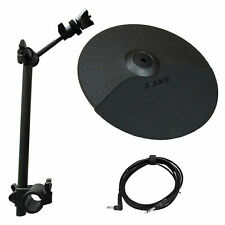 "Alesis Nitro Expansion Set: 10 Inch 1-Zone Cymbal,13"" Arm,Clamp,10ft Cable-DMPad"