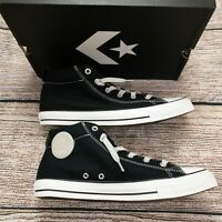 Converse Men's Chuck Taylor Street Mid Sneaker Shoes Black Gray Size 10 New