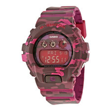 Casio G-Shock Pink Camouflage Resin Unisex Watch GMDS6900CF-4CR