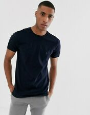 French Connection FCUK Mens Casual T-Shirt with Side Piping - M, L, XXL