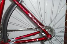 "Custom Name Bike Decals 3/4"" x 7"""