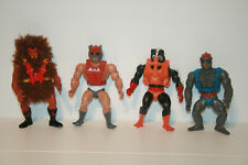 GRIZZLOR + STRATOS + STINKOR + ZODAC _  MASTERS OF THE UNIVERSE MOTU HE-MAN