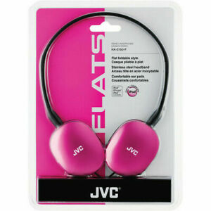 JVC-HAS160 FLATS On-Ear Stereo Headphones Assorted Colors BRAND NEW