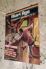 Vintage Atari Age Magazine Vol. 1 # 5 - Crazy Climber, retro gaming, 2600