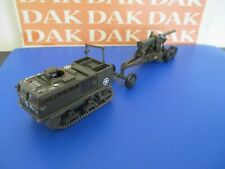 Die cast 1/72 Modellino Tractor Trattore M4 + Cannone Gun 155mm Long Tom US Army