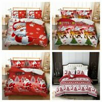 Xmas Bedding Set Duvet Cover for Comforter Twin/Queen/King Size Pillowcase