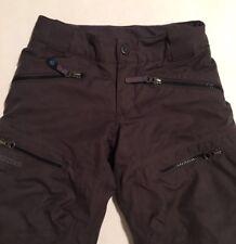 EUC Youth Lined Ski Pants Marmot Size XS w/Adjustable Waist Nylon/Polyester