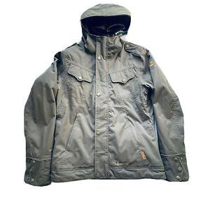 NWOT Burton Sinki Snow Coat Jacket Hooded Brown Sz Small Womens