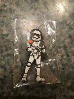 Star Wars Celebration Chicago First Order Storm Trooper Staff Excl. Trading Pin