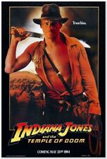 INDIANA JONES AND THE TEMPLE OF DOOM -1984 - Orig Rolled ADV 27x41 Movie Poster