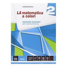 9788849418866 La matematica a colori. Ediz. azzurra. Con e-book.... superiori: 2