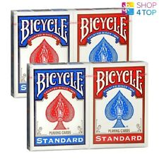 Bicycle Standard Playing Cards Red or Blue Free P/&P BN Sealed UK  Fast Free P/&P