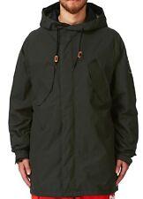 $260 ThirtyTwo Mens Deep Creek Ski Snowboarding Jacket Black Coat 686 Size Small