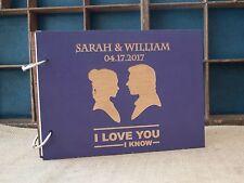 Star wars guest book A4, Star wars wedding, Wood wedding guest book, Custom made