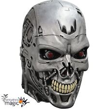 Adult Official Terminator Latex Endoskull T-800 Cyborg Genisys Full Head Mask