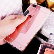 Luxury Slim Mirror Soft Clear Case Cover  For Huawei P20 Pro P10 Lite Mate10 Y6