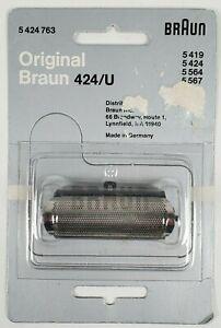 Braun Original 424/U Shaver Screen 5419- 5424-5564-5567 Quantity Discount