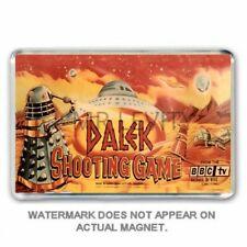 RETRO 1960's -DOCTOR WHO -DALEK SHOOTING GAME -BOX ART  JUMBO FRIDGE  MAGNET