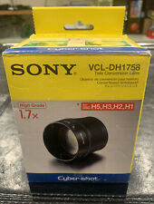 Sony Cyber-shot VCL DH1758 Tele Conversion Lens-SEALED !!