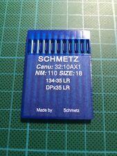 10 Aiguilles Schmetz Taille 110/18 Machine à Coudre Industrielle Spécial Cuir