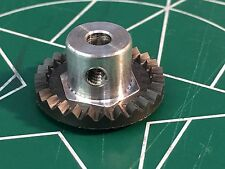 Cox 18027 1/8 axle 48 Pitch 27 Tooth Crown Gear 1/24 slot Mid America Raceway